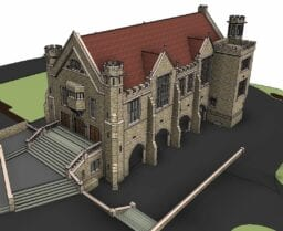 Pears Hall Revit Survey