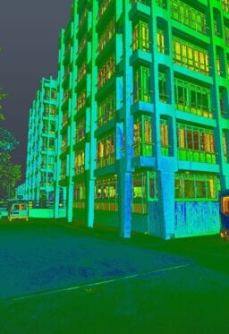 point cloud of swindon college