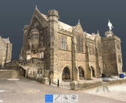 Point Cloud of Pears Hall Repton School