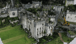 I'm a Celebrity Gwrych Castle OBJ to Sketchup